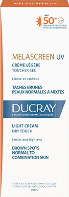 Melascreen Light cream SPF 50+ UVA Box