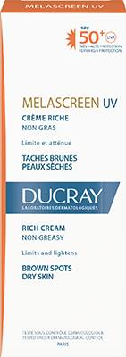 Melascreen Rich cream SPF50+ UVA Box