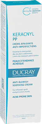 Keracnyl PP Anti-blemish soothing cream - Box