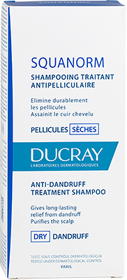 SQUANORM Anti-dandruff treatment shampoo - Dry dandruff - Box