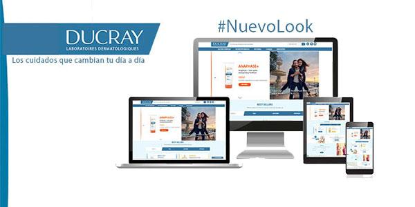LA WEB DUCRAY DESVELA SU NUEVO LOOK