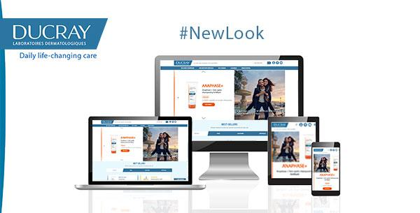 New look for DUCRAY Website !