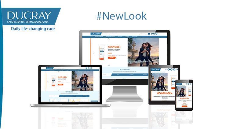New look for DUCRAY Website !
