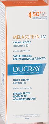 Melascreen Light cream SPF 50+ UVA - Box