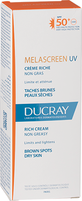 Melascreen Rich cream SPF50+ UVA - Box