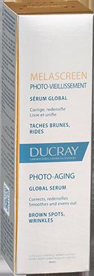Melascreen Photo-aging global serum -Box