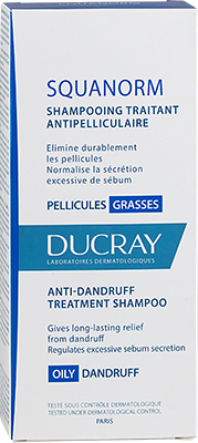 SQUANORM Anti-dandruff treatment shampoo - Oily dandruff - Box