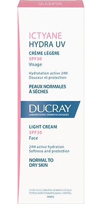 ICTYANE HYDRA UV Light face cream - Box