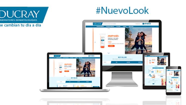 Nuevo look web Ducray