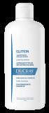 En flaske Elution beroligende og beskyttende shampoo til skæl