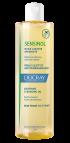 En gul flaske Sensinol soothing cleansing oil mod kløende hud og hovedbund