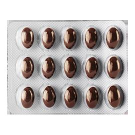 En pakke ANACAPS tri activ piller kost tilskud der styrker håret
