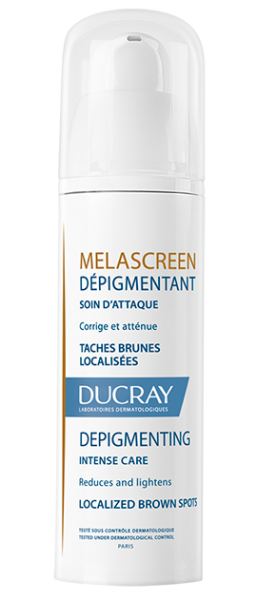 Melascreen Depigmentering mod pigment forandringer