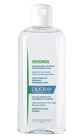 En flaske Sensinol physio-protective treament shampoo