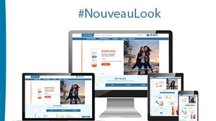 Nouveau look pour le site Ducray !