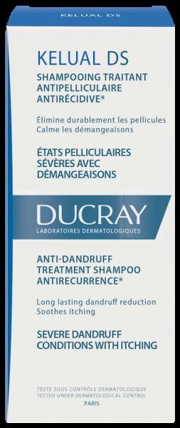 Confezione Kelual DS Shampoo trattante antiforfora antiricomparsa | Ducray