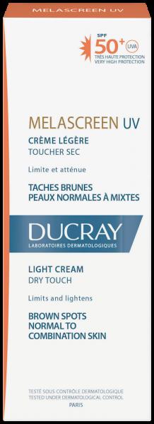 Confezione Melascreen UV Crema leggera SPF50+ | Ducray