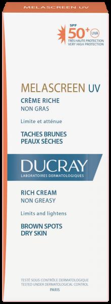 Confezione Melascreen UV Crema ricca SPF50+ | Ducray