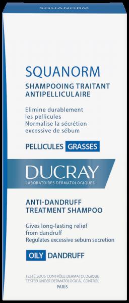 Confezione SQUANORM Shampoo trattante antiforfora - Forfora grassa | Ducray