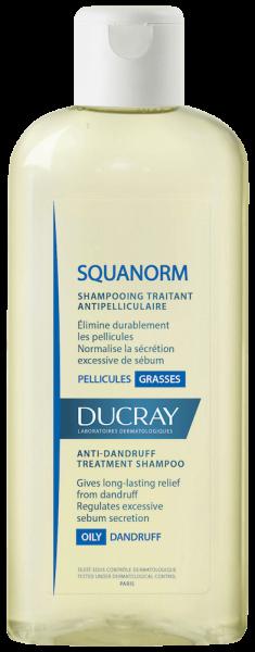 SQUANORM Shampoo trattante antiforfora - Forfora grassa | Ducray